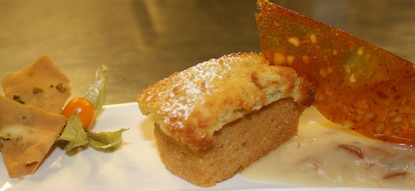 Tortina di mele al brodo di giuggiole