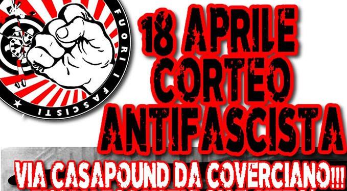 18 Aprile: a Coverciano per fermare Casapound