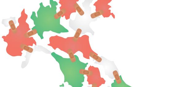 Dove mi curo meglio? Disparità regionali della sanità italiana