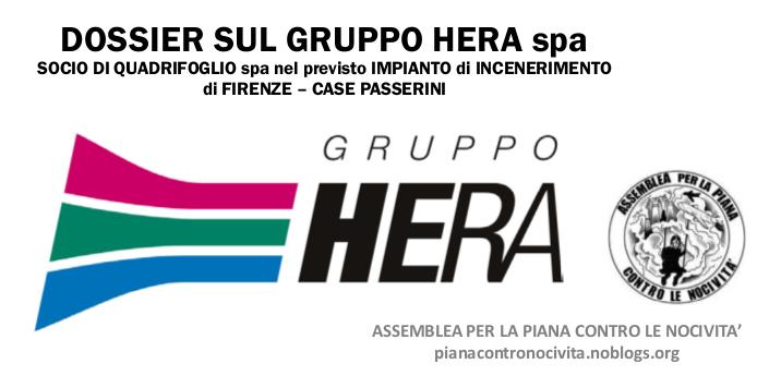Non aprite la porta ad Hera. Scatta il boicottaggio con un'inchiesta verità sul nuovo inceneritore di Firenze