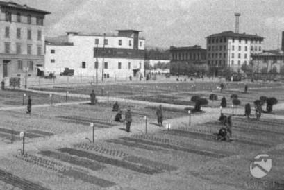 Area ex Fiat di viale Belfiore: vista dall'alto dal 1943 ad oggi