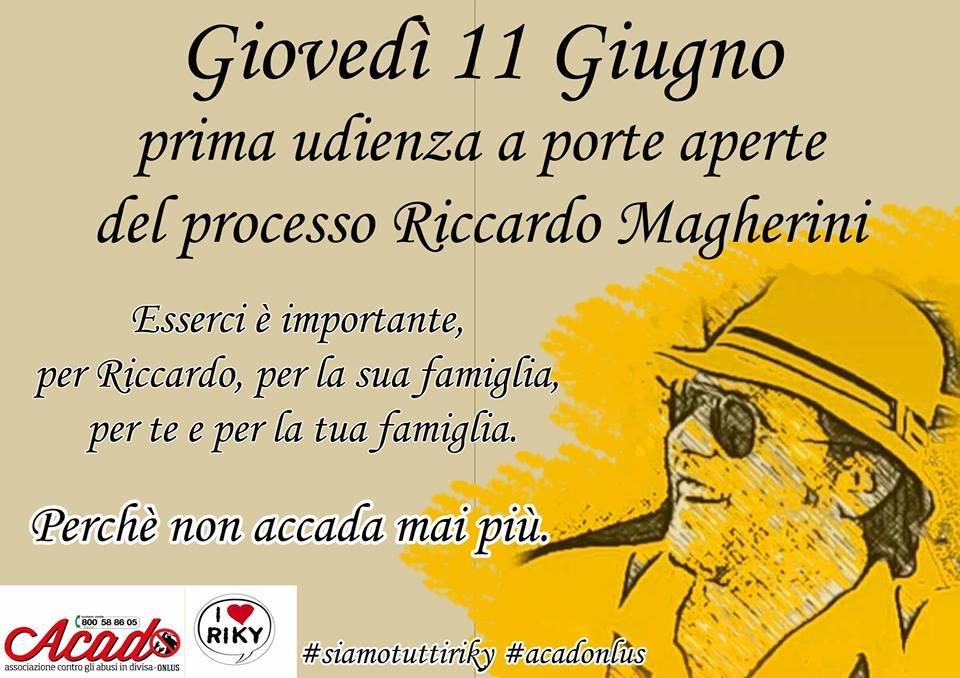 Sai chi è Riccardo Magherini?