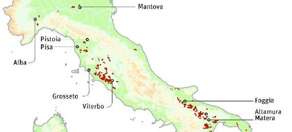 Nucleare, Toscana protagonista: tra i possibili siti per lo stoccaggio delle scorie Pisa, Pistoia e Grosseto