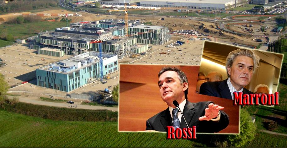 Il nuovo ospedale di Pistoia: un gigante d'argilla