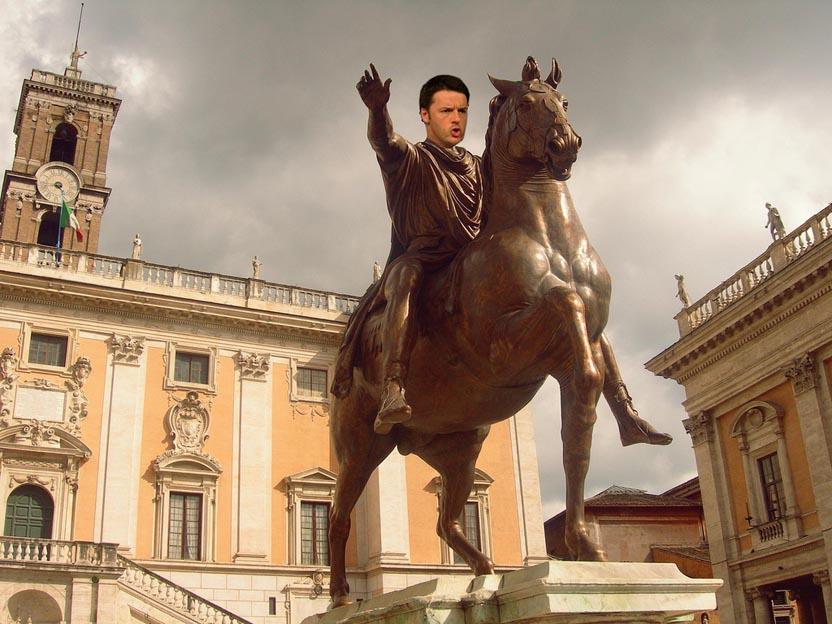 Le mani (di Renzi) sul Campidoglio