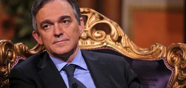 13/05/2010 Roma,trasmissione Telecamere in onda su Raitre nella foto Enrico Rossi Presidente Regione Toscana