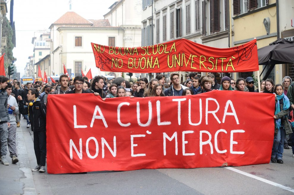 La cultura non è merce!