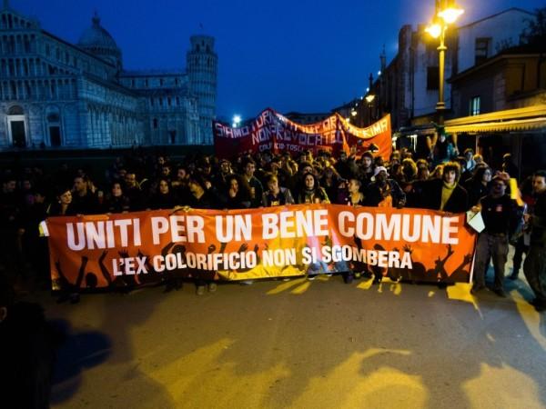 Pisa, le proposte di Rebeldìa sul Regolamento dei Beni comuni