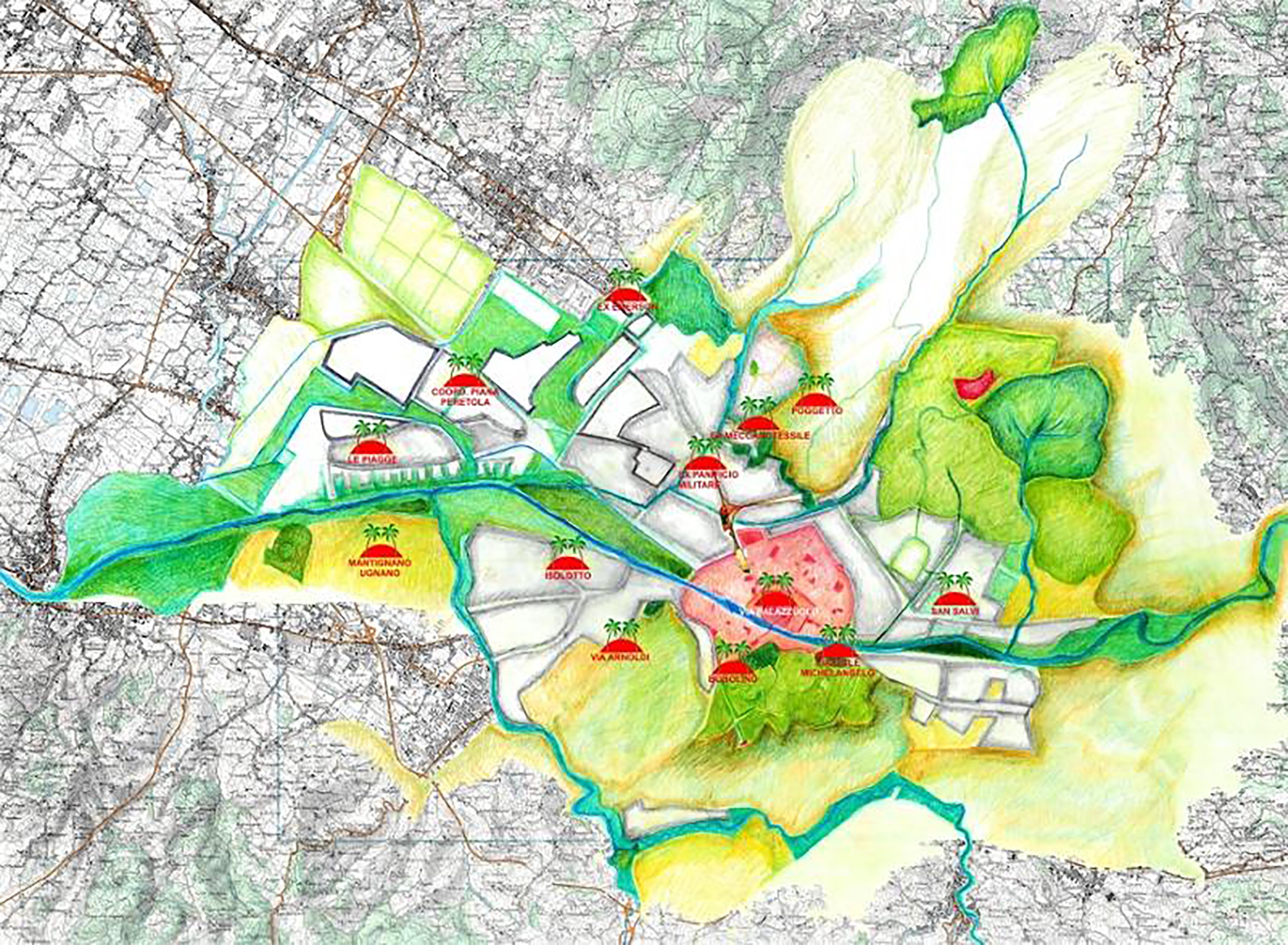 Occasione mancata per un corridoio ecologico nella Piana: il caso Carraia-Geminiani