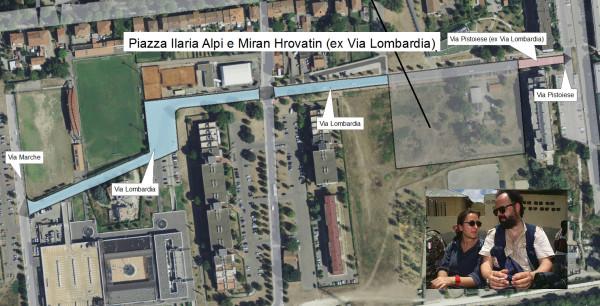 Piazza Alpi e Hrovatin alle Piagge. Soddisfazione per l'ok alla proposta di perUnaltracittà
