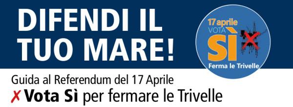 Guida al referendum del 17 aprile per fermare le trivelle