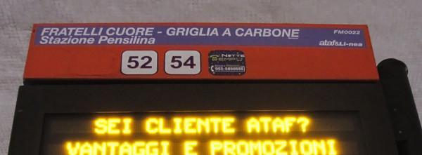 Dove si scende a Firenze? Autobus e pubblicità.
