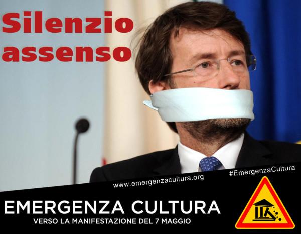 Emergenza cultura. Salviamo l'articolo 9. Manifestazione Roma, 7 maggio 2016