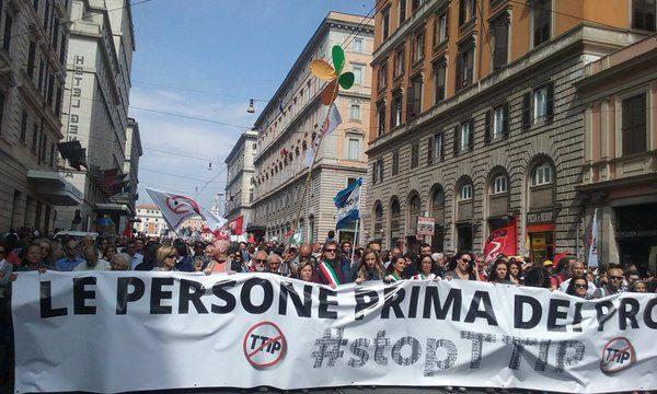 Stop TTIP, il 7 maggio è stata una splendida giornata