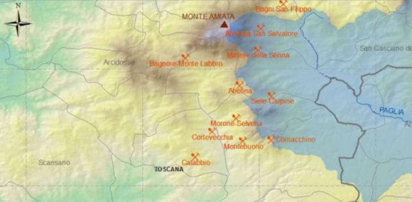 Allarme Mercurio: dall'Amiata al Tirreno a rischio la nostra salute. L'assenza delle istituzioni