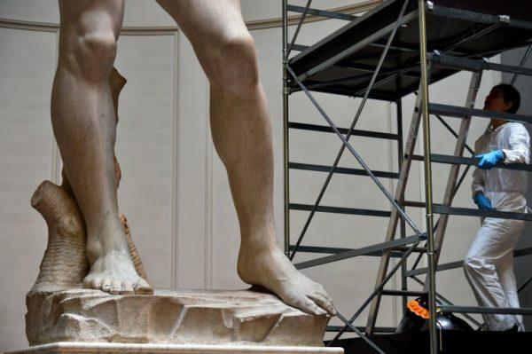 Le caviglie del David