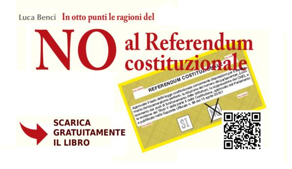 """Libro perUnaltracittà: """"In otto punti le ragioni del NO al Referendum costituzionale"""" - Scaricalo gratis"""