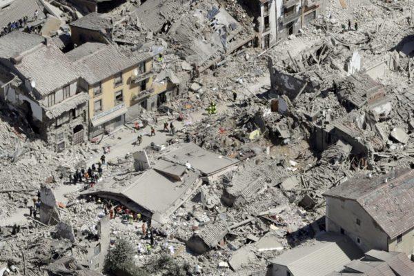 Terremoto in Italia: ecco una proposta dal Presidio Europa NoTav