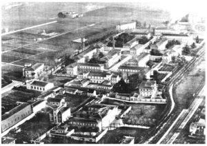 Il Parco di San Salvi in una foto aerea degli anni Venti