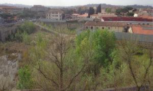 Il canitiere abbandonato di viale Belfiore