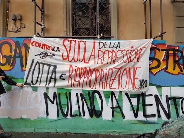 Movimento fiorentino e lotte studentesche: noi stiamo con chi ha detto NO