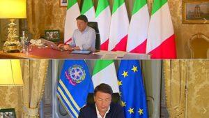 La svolta antieuropeista di Matteo Renzi, via la bandiera blu dell'Unione