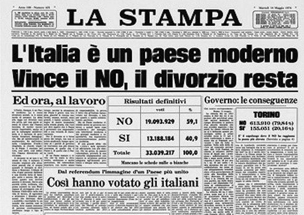 Referendum: i NO che hanno riformato, e reso meno incivile, l'Italia