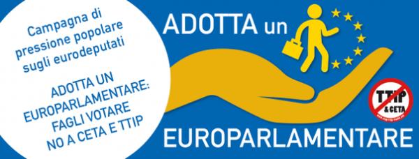 Adotta un parlamentare europeo