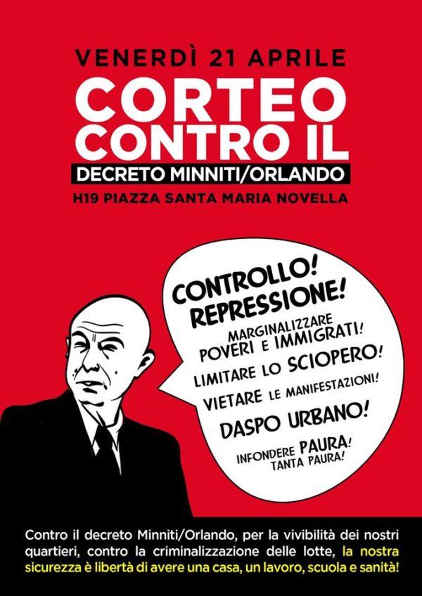Un'analisi del decreto Minniti Orlando: non vogliamo repressione, ma casa, lavoro, scuola e sanità