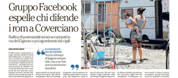 Odio su Facebook, quella doppia morale di Palazzo Vecchio che colpisce i più deboli