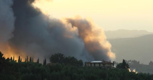 L'incendio nella discarica del Cassero a un anno di distanza