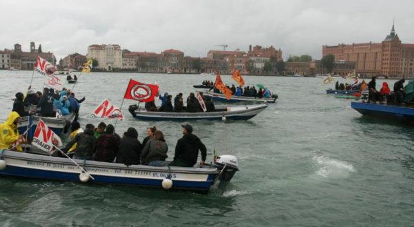 Da Venezia: No alle Grandi Navi