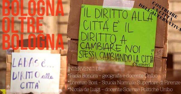 Spazi, partecipazione e conflitto nella città neoliberale: trasformazioni in corso a Bologna