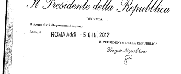 Aeroporto di Firenze bocciato dal Presidente della Repubblica. Perché Nazione, Repubblica e Corriere Fiorentino non ne scrivono?
