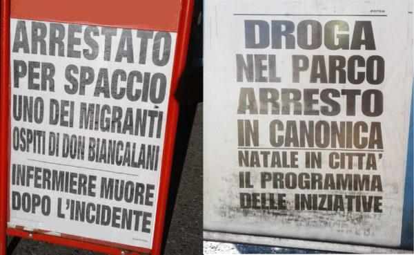 Vicofaro a Pistoia: sbatti il mostro in prima pagina!