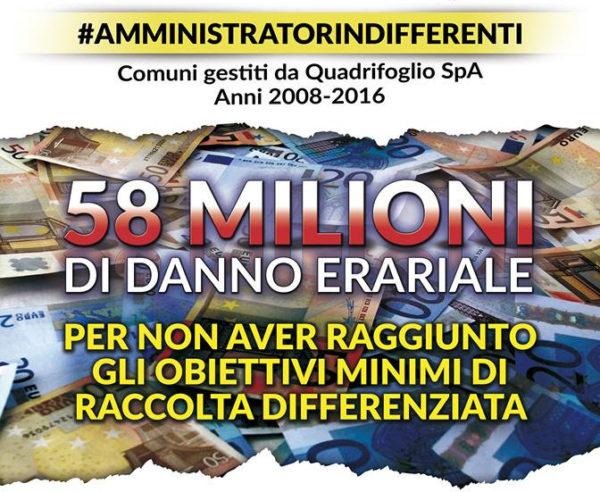 Rifiuti a Firenze: 58 milioni di danno erariale. La denuncia dei movimenti NoInc alla Procura