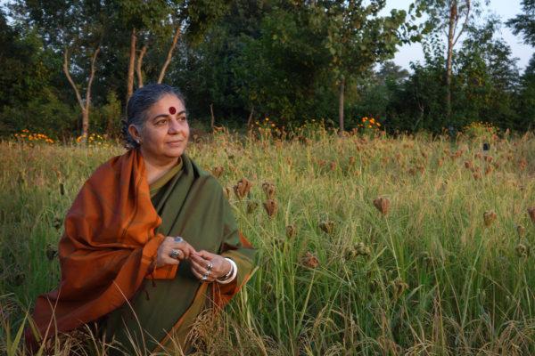 Vandana Shiva a Spazio Inkiostro il 30 gennaio