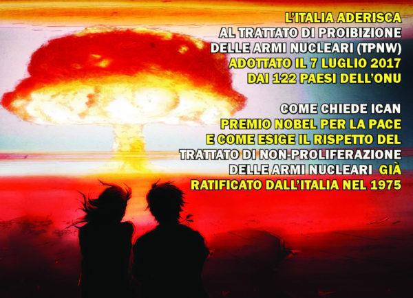 12 gennaio all'InKiostro, contro le armi nucleari verso la manifestazione di Ghedi