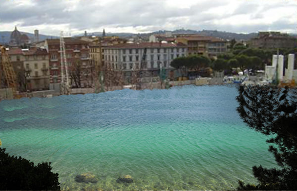 Il lago di Firenze