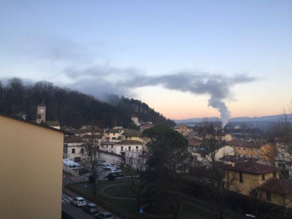 Fumi inquietanti a San Piero a Sieve