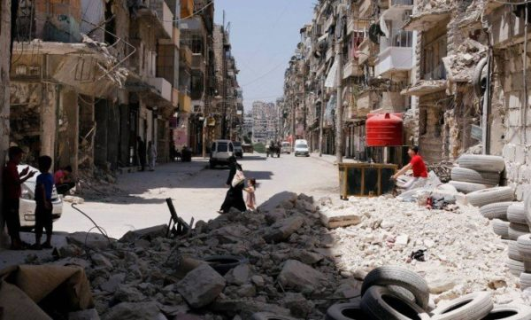 Contro i bombardamenti in Siria