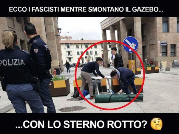 """Sulla presunta """"aggressione"""" ad Azione Universitaria a Novoli"""
