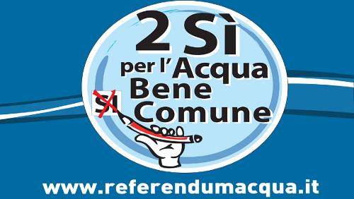 Referendum per l'acqua bene comune: se 7 anni vi sembran pochi!
