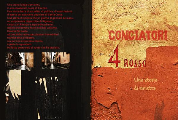 Via dei Conciatori 4 rosso a Firenze: una storia di sinistra. Il 4 ottobre allo Spazio InKiostro