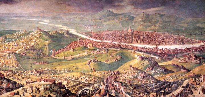 L'Assedio di Firenze (1530), fine della Repubblica, Giorgio Vasari