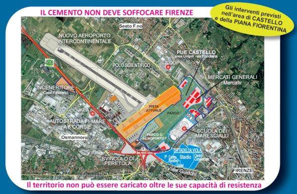 Nuovo aeroporto di Firenze: tagliamo le ali ai padroni del cemento!