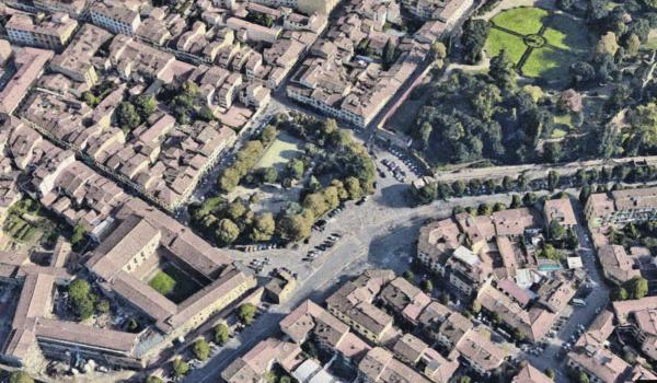 Piazza Tasso, privata per novantant'anni. Ancora un parcheggio interrato in Oltrarno