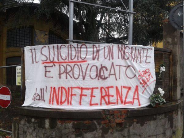 Suicida a Pistoia, istituzioni indifferenti. Ma era un migrante