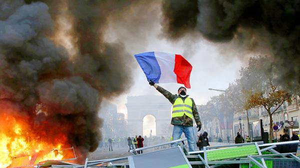 Gilets jaunes e l'identità della rivolta