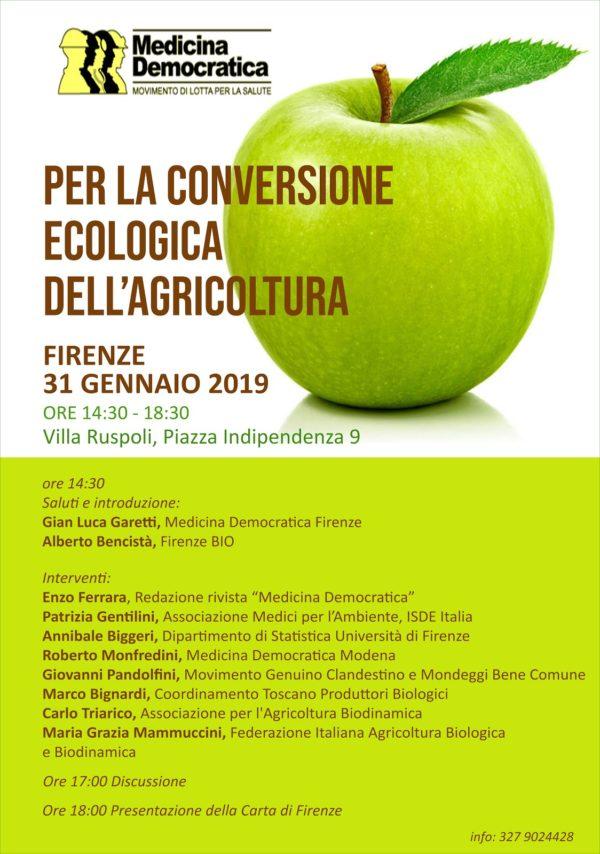 Conversione ecologica dell'agricoltura: due convegni in Toscana